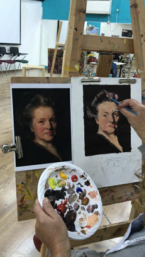 הסטודיו לציור