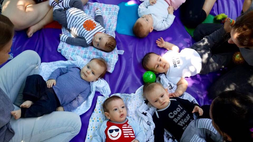 סדנאות עיסוי תינוקות